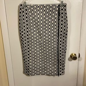 Lane Bryant Pencil Skirt w/ Zipper detail.